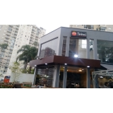 fachada de acm preto preço Francisco Morato