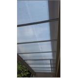 onde encontrar cobertura policarbonato cristal para área externa São Bernardo do Campo