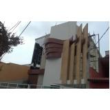 orçamento de totens em pvc de fachadas Vila Anastácio