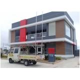 revestimento de fachada com acm preço Vila Maria