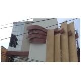 toldo em policarbonato compacto para fachada preço Parque São Domingos