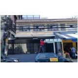 toldo em policarbonato para loja preço Embu das Artes