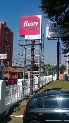 Totens em Pvc Luminosos Preço Tremembé - Totem com Letra Caixa